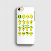 norwich city shirts  3D Phone case